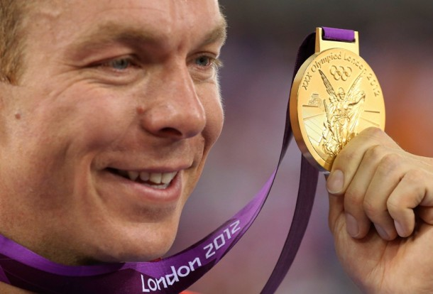 Chris Hoy becomes Britain's greatest ever Olympian at the 2012 London Games. (Photo: Reuters)