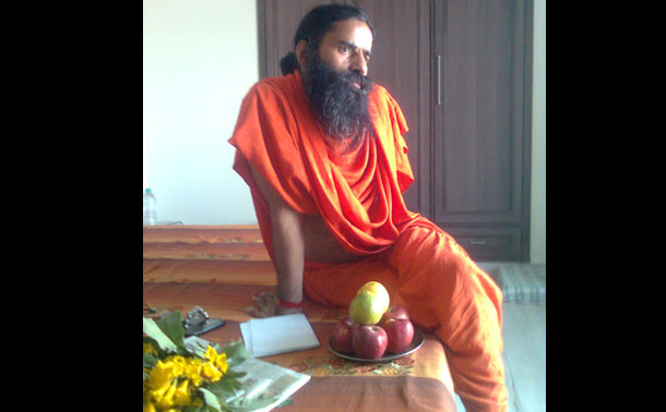 Baba Ramdev ended his hunger strike to protest endemic corruption in India after six days on Tuesday. (Photo: Dr. Krant M. L. Verma)