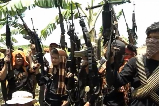 Members of the Bangsamoro Islamic Freedom Movement in the southern Philippines. (Photo: TV5)
