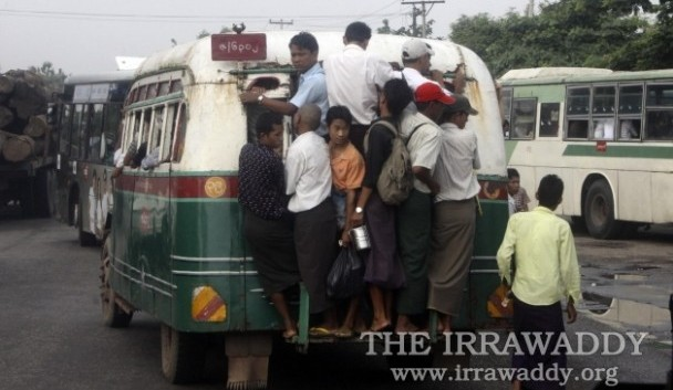 Burma's antiquated transport system requires investment. (Photo: Steve Tickner / The Irrawaddy)
