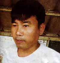 Laphai Zau Seng, in a 2006 photo taken at Myingyan Prison.