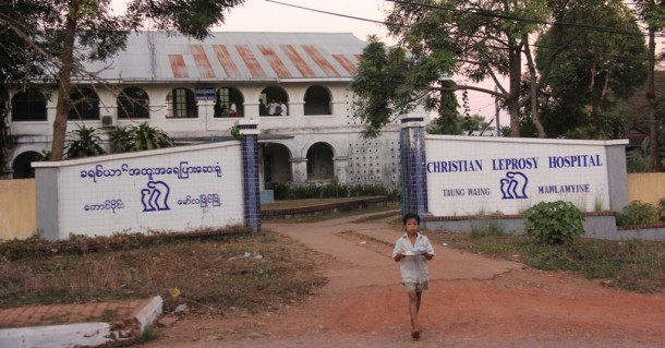 Mawlamyine Christian Leprosy Hospital in Mon State cares for about 200 patients with leprosy, while many more former patients continue to live there. (Photo: Muang Ra)