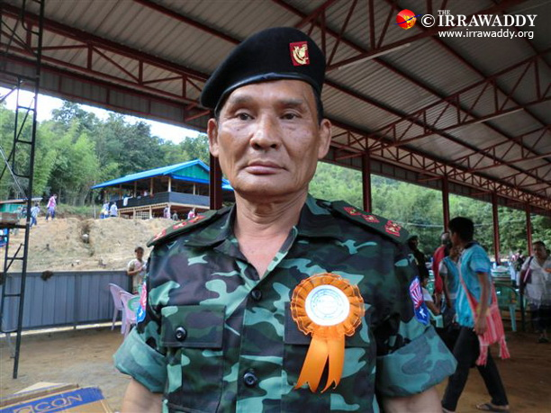 Gen Saw Johnny was elected on Tuesday as chief of the Karen National Liberation Army. (Photo: The Irrawaddy)