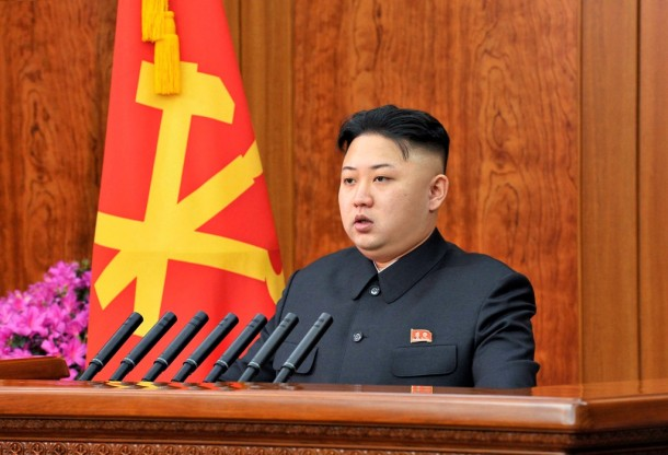 North Korean leader Kim Jong-un delivers a New Year address in Pyongyang. (Photo: Reuters)