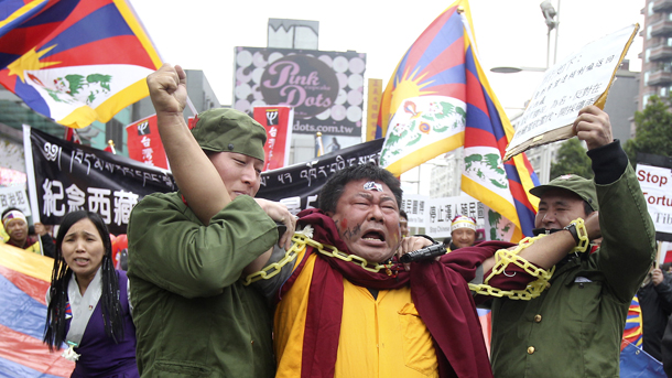 China Detains 70 In Crackdown On Tibet Protests