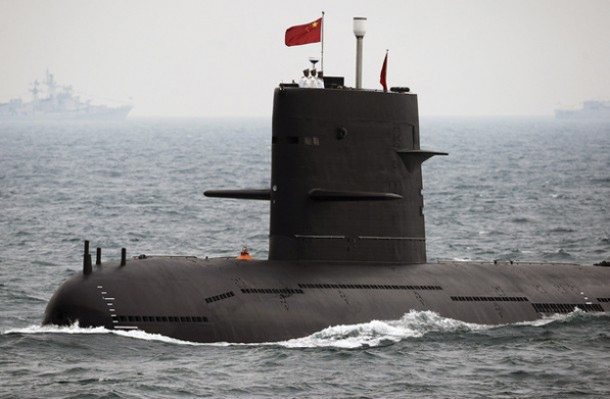 In this April 23, 2009 file photo, a Chinese Navy submarine takes part in an international fleet review to celebrate the 60th anniversary of the founding of the People's Liberation Army Navy in Qingdao, Shandong province. (Photo: Reuters)