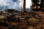 Muslims Fear for Their Lives as Flames Consume Burma Town Near Former Capital