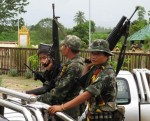 DKBA Forces Refuse to Leave Dam Site