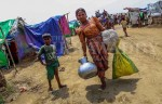 Thousands of Evacuees Return to IDP Camps, After Cyclone Misses Arakan