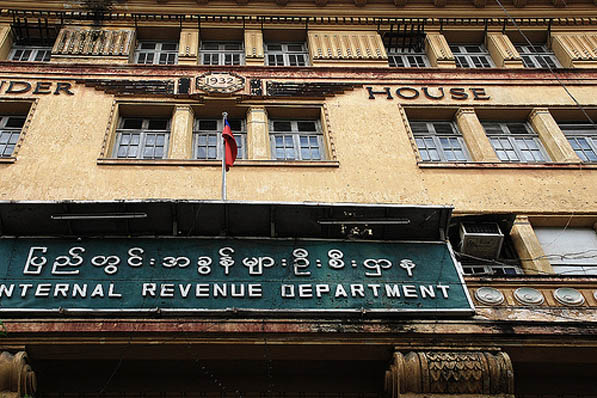Sanctioned firms listed among burma s top taxpayers for Bureau internal revenue