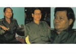 Birds of a feather? Gen Saw Maung, left, was the first to go, after being forced to step down in 1992; Gen Khin Nyunt, center, followed 12 years later. Of the founding members of the junta that seized power in 1988, only Gen Than Shwe, right, survived until a quasi-civilian government was formed in 2011. (Photo: Dominic Faulder)