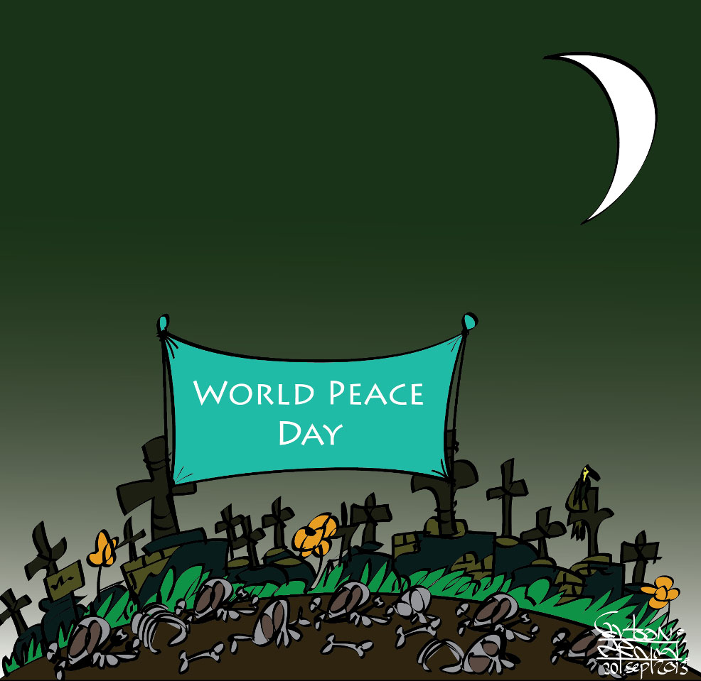 world peace day essays The international day of peace, sometimes unofficially known as world peace day, is a united nations-sanctioned holiday observed annually on 21 september.