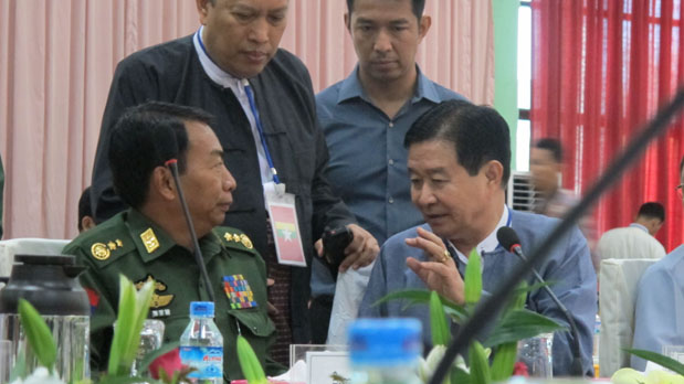 Kachin, Burma, Myanmar, civil war, nationwide ceasefire, peace talks, Aung Min, Laiza, Majayang, Kachin Independence Army, Kachin Independence Organization, Shan State Army
