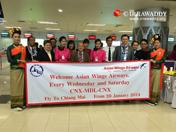 tourism, airline industry, Chiang Mai, Mandalay, Thailand, Myanmar