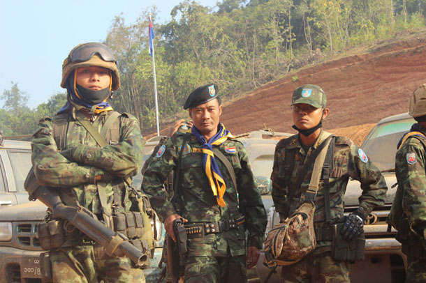 Karen State, Karen National Union, Myanmar, Burma, National Ceasefire Coordination Team, Naw Susanna Hla Hla Soe, Min Aung Hlaing, commander-in-chief, Laiza, Sai Hla, Restoration Council of Shan State, Law Khee Lah