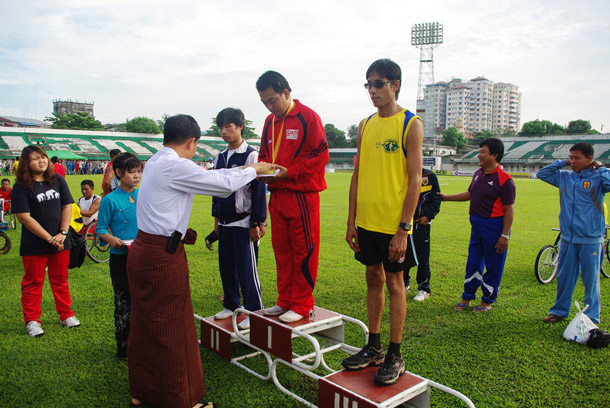 Myanmar, Burma, The Irrawaddy, Asean Para Games, Naypyidaw, athletics, sports