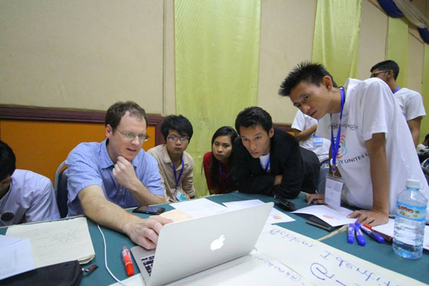 Myanmar, ICT, tech camp, US State Department, civil society, election monitoring
