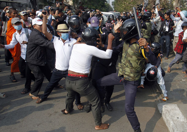 Cambodia, political unrest, political violence