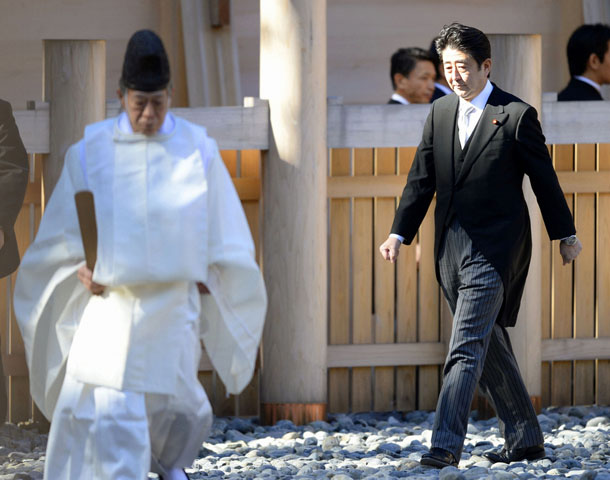 Japan, China, Yasukuni Shrine, Lord Voldemort, Harry Potter, Shinzo Abe, Liu Xiaoming
