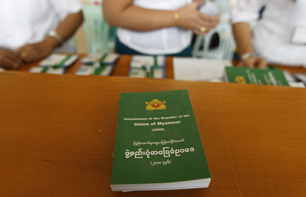 Myanmar, Burma, Parliament, Constitution, Aung San Suu Kyi, reforms, Union Solidarity and Development Party, ethnic, federal army
