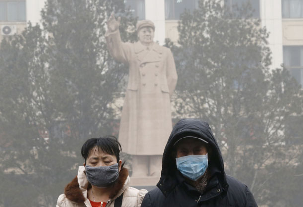 China, smog, environment, pollution, factory, Beijing, Hebei