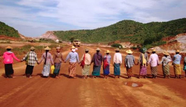 Myanmar, Burma, mining, Letpadaung, copper mine, China, Aung San Suu Kyi, protest, environment,