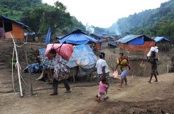 Myanmar, Kachin, Burma, KIO, KIA, Gun Maw, IDP, internally displaced people, refugees, civil war, ceasefire,