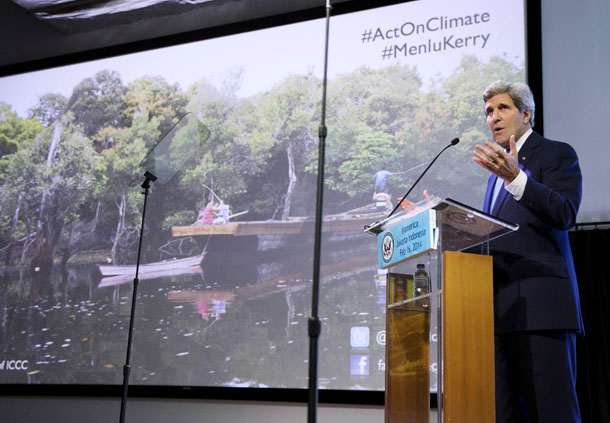Climate Change, John Kerry, United States, Indonesia,