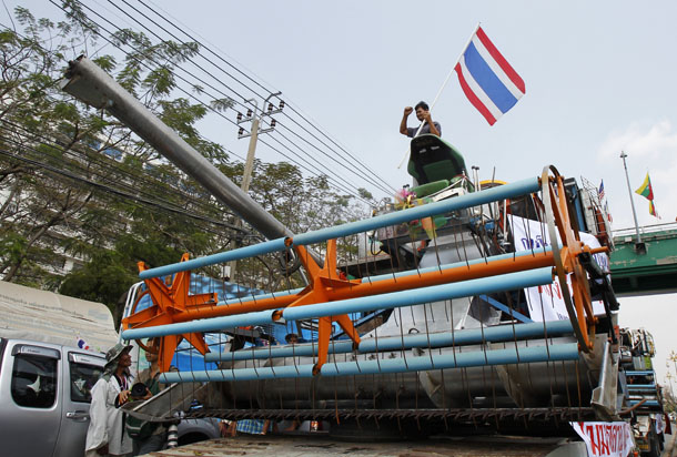Thaksin, Yingluck, Thailand, agriculture, rice, Bangkok, tourism, political strife, conflict