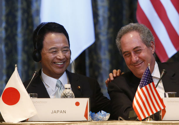 trans-Pacific trade, Trans-Pacific Partnership, US, United States, Michael Froman, Japan, Singapore, agriculture