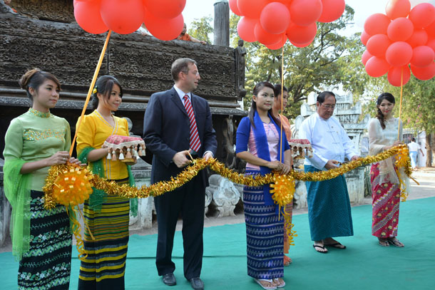 Myanmar, Burma, The Irrawaddy, Mandalay, Shwe Nan Daw Kyaung Monastery, preservation, conservation, Golden Palace Monastery, World Monuments Fund, Ministry of Culture, US Ambassadors Fund for Cultural Preservation