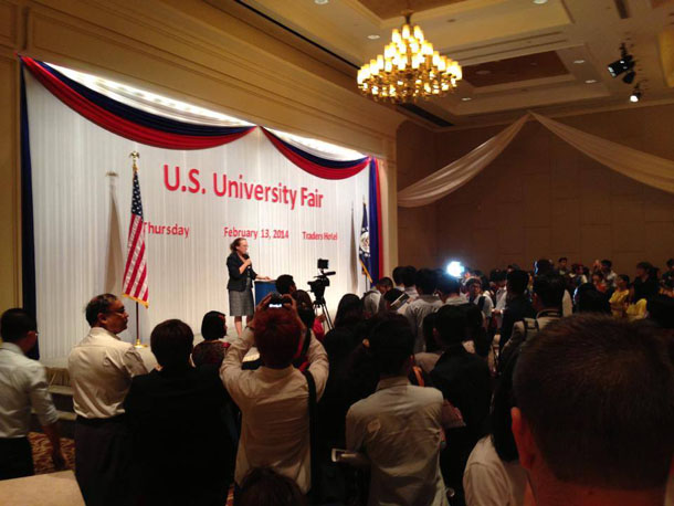 Myanmar, Burma, The Irrawaddy, higher education, United State, universities, colleges, EducationUSA