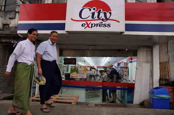 Myanmar, Burma, The Irrawaddy, convenience stores, Rangoon, Yangon, real estate, rent