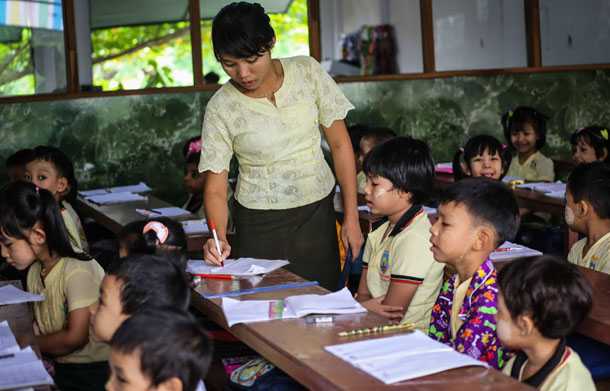Myanmar, Burma, The Irrawaddy, education, mother tongue, ethnic minorities, curriculum, Comprehensive Education Sector Review