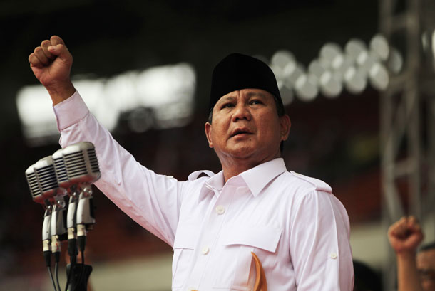 Indonesia, elections, nationalism, Prabowo Subianto, foreign investment