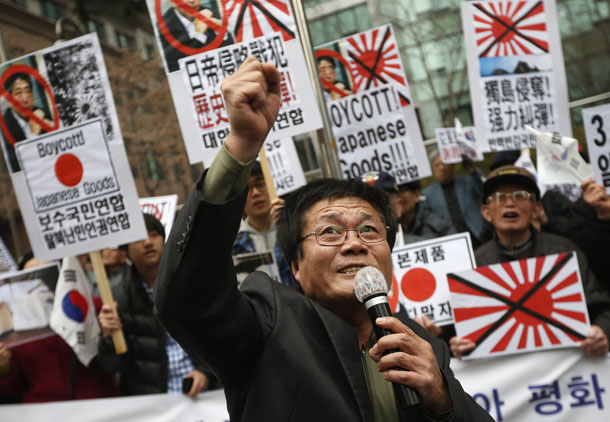 Japan, South Korea, World War II, US, United States, wartime brothels, apology, Shinzo Abe, Daniel Russel