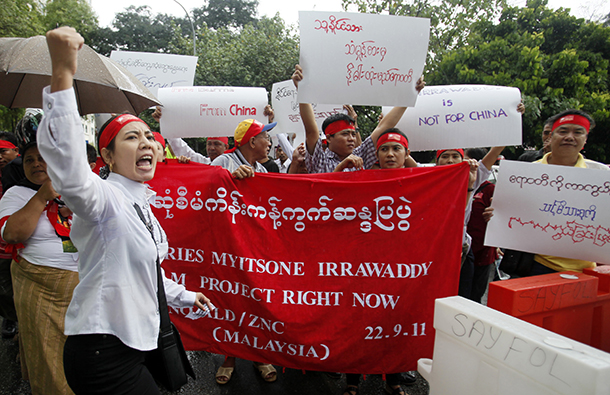 Thousands to March for Termination of Myanmar's Myitsone Dam