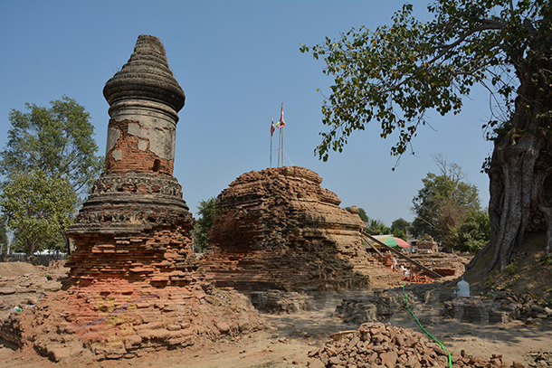 Myanmar, Burma, The Irrawaddy, King Uthumphon, Thailand, Mandalay, Linzin Hill, Ministry of Culture