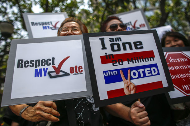 Thailand, politics, Yingluck, political unrest, civic strife