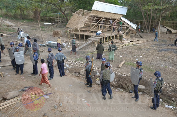 Rangoon, Yangon, Naypyidaw, Nay Pyi Taw, Myanmar, Burma, land, land rights, Ye Htut, Thein Sein, The Irrawaddy, squatters, evictions