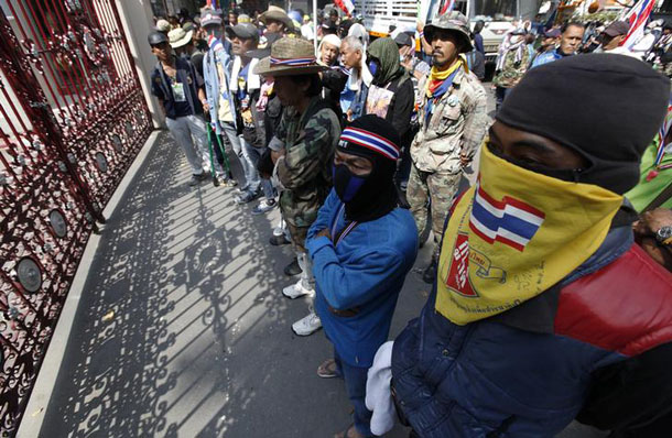 Thailand, Bangkok, civil unrest, political violence, Thaksin