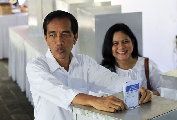Indonesia, elections, Joko Widodo, Jokowi, Indonesian Democratic Party of Struggle, PDI-P, vote