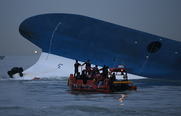 South Korea, ferry, Sewol, sinking