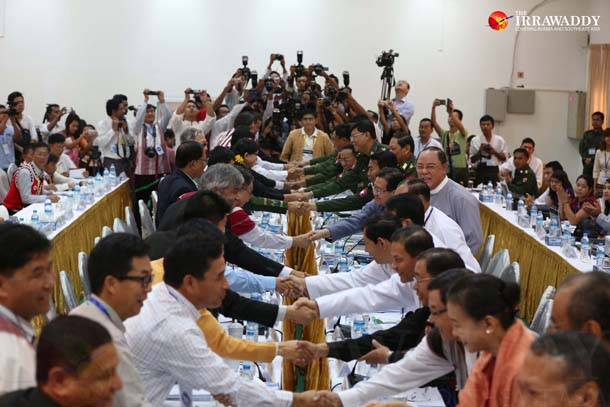 ethnic conflict, peace process, Kachin, Palaung, Shan, Myanmar, Myanmar army, Tatmadaw, Thein Sein