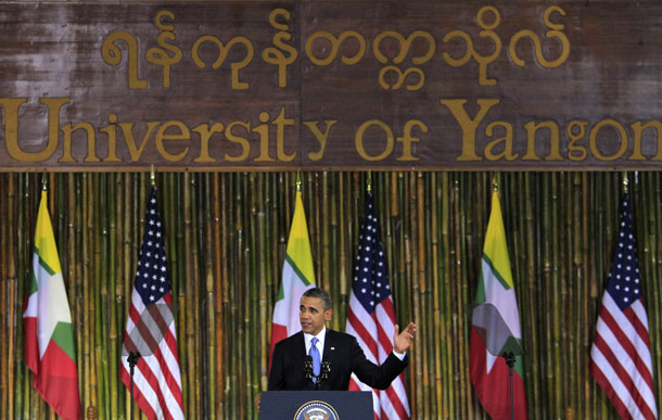 Myanmar, Burma, The Irrawaddy, US, United States, Barack Obama, Thein Sein, reform, democracy, Congress