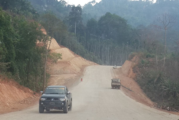 Myanmar, Burma, The Irrawaddy, Myawaddy, Kawkareik, Asean Highway Network, Karen State, infrastructure, connectivity, Dawna Range