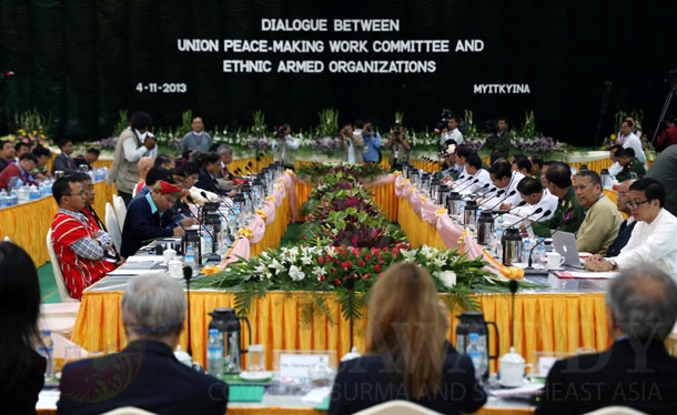 Myanmar, Burma, The Irrawaddy, nationwide ceasefire, ethnic conflict, civil war, peace process