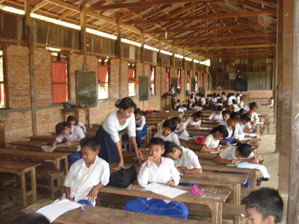 Myanmar, Burma, Mon State, Mon, education, schools, academic freedom, ethnic languages, mother tongue CATEGORY: education, ethnic issues