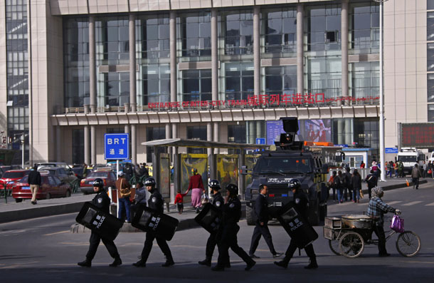 China, Xinjiang, Uighur, Muslim, terrorism, suicide bomb, train station, attack,