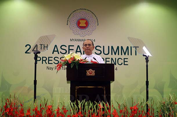 Asean, Vietnam, China, South China Sea, Myanmar, Naypyidaw